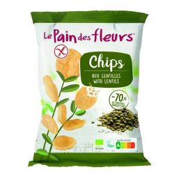 Chips aux lentilles 50g Le pain des fleurs