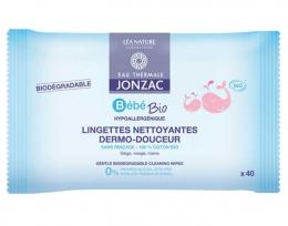 Lingettes nettoyantes bio - Jonzac
