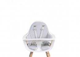 Coussin de chaise haute - Mouse grey pastel - Childhome