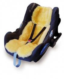 Peau d'agneau siège auto, maxi cosy et poussette - Kaiser