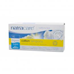 Tampons en coton BIO - Super - sans applicateur - Natracare