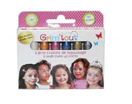 6 crayons Jumbo à maquillage - Grim'tout