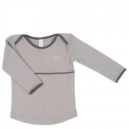 T-shier manches longues en coton Fiji - Soft grey - Koeka
