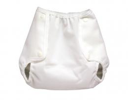 Culotte de Protection Vento Blanche  - Fermeture à Pressions