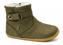 Bobux Step-Up: storm boot green
