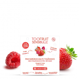 Savon Pain surgras BIO FRAISE FRAMBOISE Toofruit