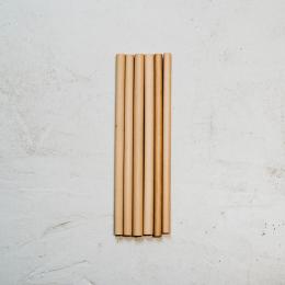 Pailles en bambou 13cm - 6 unités - Bambaw