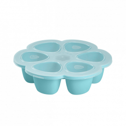 Multiportions silicone 6x90 ml bleu Beaba