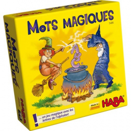Jeu de cartes Mots magiques Haba