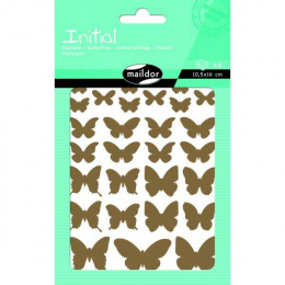 Stickers - Initial - Papillons - Maildor