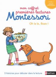 Mon coffret premières lectures Montessori - Oh la la Bozo - Nathan