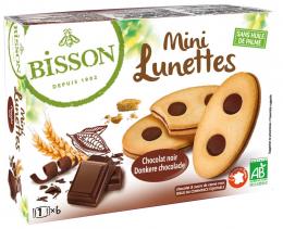 Biscuits BIO mini lunettes Chocolat Bisson 175 g