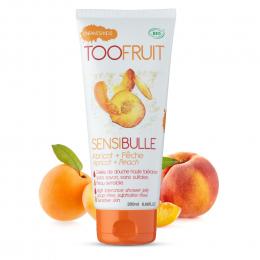 SENSIBULLE Gel nettoyant BIO Abricot et pêche Toofruit