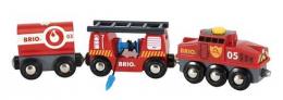 Train des pompiers - Brio
