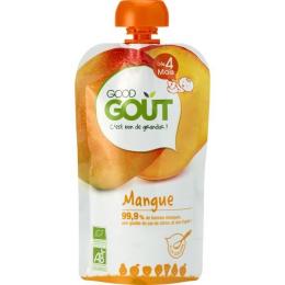 Compote BIO - Purée de fruits -  Mangue - GoodGout