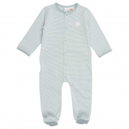 Pyjama bébé Palm Beach - soft sapphire - Koeka