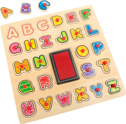 Tampons et puzzle ABC small foot