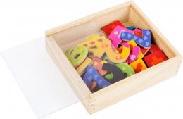 Chiffres magnétiques colorées en bois Small foot