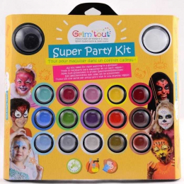 Kit maquillage - Super party Kit - Grim'tout