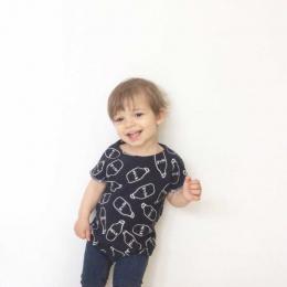 T-shirt - Milk Bleu - Taille 3 ans - Malice et caprices