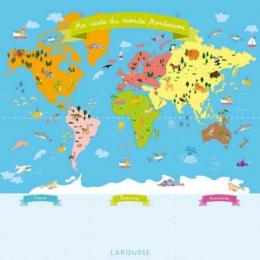 Ma carte d'Europe Montessori - Larousse