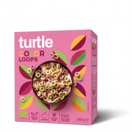 Céréales Turtle Color Loops 300 gr