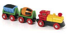 Train marchandises avec lumière - Brio