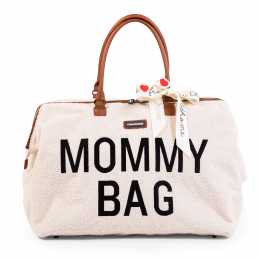 Mommy bag Sac à langer Teddy écru Childhome