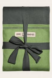 Echarpe longue original Gris vert poche pistache Love Radius JPMBB
