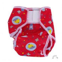 Culotte de protection popowrap Birdy red - Popolini