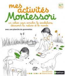 Mes activités Montessori - labellisé Montessori