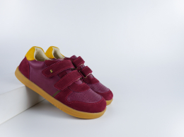 Chaussures Bobux - Kid+ - Riley Boysenberry + Chartreuse