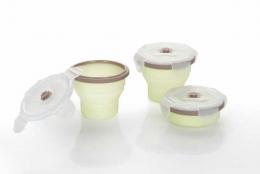 lot de 3 pots de conservation en silicone - Babymoov