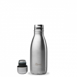 Bouteille Isotherme - 260ml - Inox - Qwetch