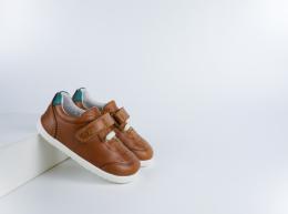 Chaussures Bobux - Step Up - Ryder trainer Caramel + Slate