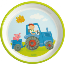 Assiette Tracteur Haba