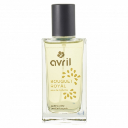 Eau de toilette BIO - Bouquet royal - Avril