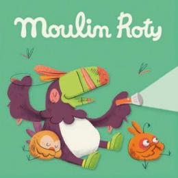 Boîte de 3 disques pour lampe à histoires Dans la jungle Moulin Roty