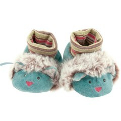 Chaussons Chat Les pachats (0-6 mois) - Moulin Roty