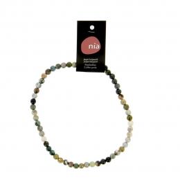 Leopard Jaspe - Collier de pierres perles - Nia