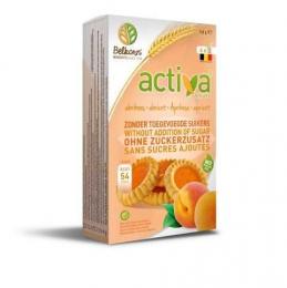 Biscuits abricot sans sucre Activa - 150g BIO - BELKORN