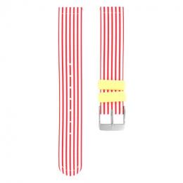 Bracelet en silicone  pour montre Red Sailor Twistiti