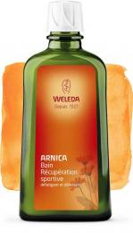 Bain arnica récupération sportive - Weleda