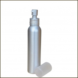 Flacon alu avec pompe - 100ML - Bioflore