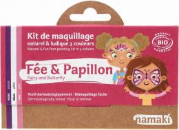 Maquillage Kit 3 couleurs Fée et Papillon - Namaki