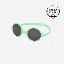 Lunettes de soleil Vert d'eau - 0-1an - SUN réversible - KI ET LA