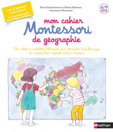 Mon cahier Montessori de Géographie Nathan