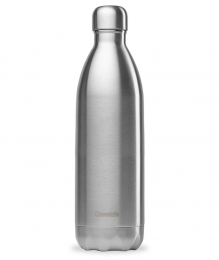 Bouteille Isotherme - 1L - Inox - Qwetch
