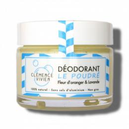 Déodorant naturel Le poudré Clémence et Vivien