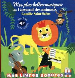 Livre sonore carnaval des animaux Thomas jeunesse